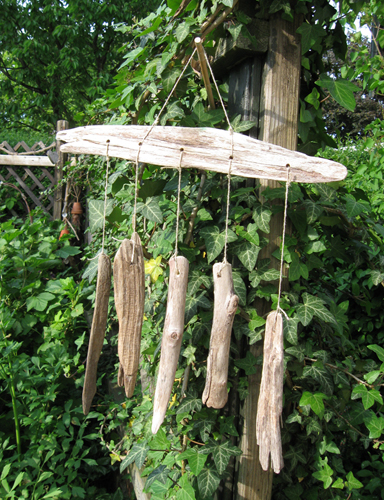 driftwood wind chime tutorial. Black Bedroom Furniture Sets. Home Design Ideas