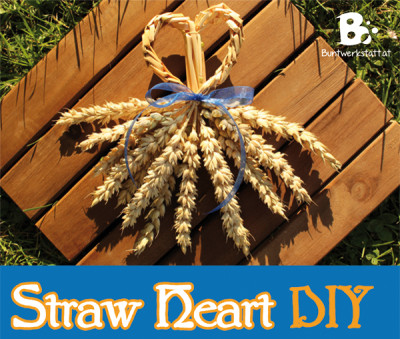 Straw Weaving – Heart