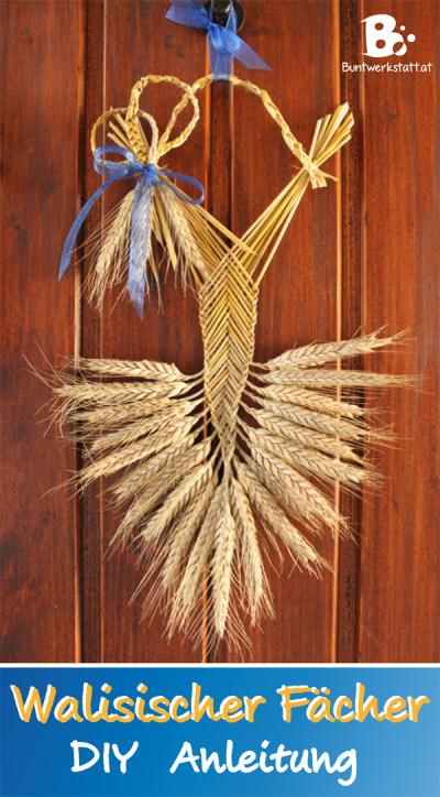 Straw Weaving – Welsh Border Fan