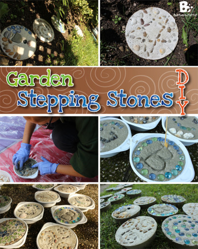 Make Stepping Stones for your garden