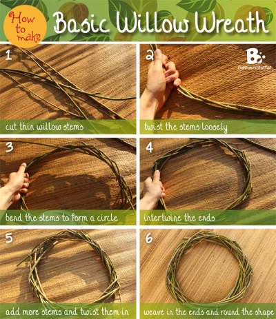 Basic Willow Wreath Tutorial