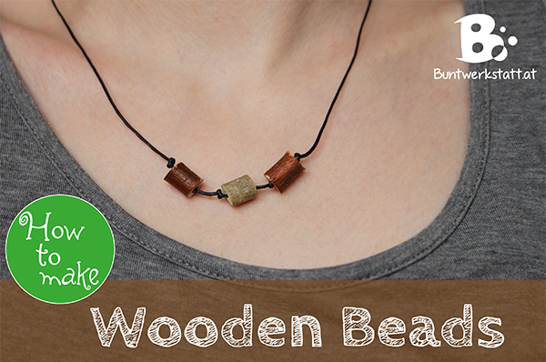 Easy Wooden Beads