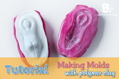 make a Polymer Clay Mold