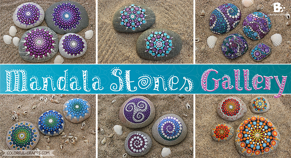 Mandala Stones Picture Gallery